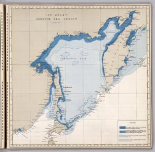 Ice Chart, Okhotsk Sea Region, February.