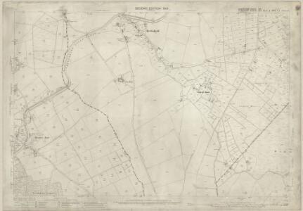 Shropshire XIV.1 (includes: Bettisfield; Ellesmere Rural; Welshampton; Wem Rural) - 25 Inch Map