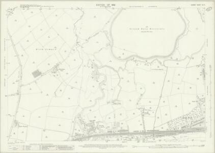 Surrey XII.6 (includes: East Molesey; Esher; Thames Ditton; Walton Upon Thames) - 25 Inch Map