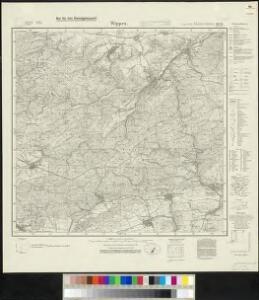 Meßtischblatt 4433 : Wippra, 1934