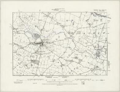Staffordshire XXIX.SW - OS Six-Inch Map