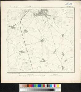 Meßtischblatt 201 : Jüterbogk, 1874