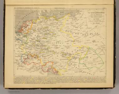 L'Allemagne 1437 a 1612.