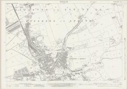 Durham XIII.16 (includes: Herrington; Houghton Le Spring) - 25 Inch Map