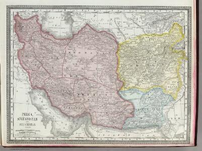 Persia, Afghanistan, and Beluchistan.