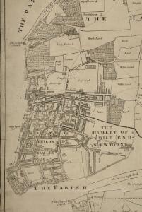 A Map of the Parish of St. Dunstans Stepney, als. Stebunheath.
