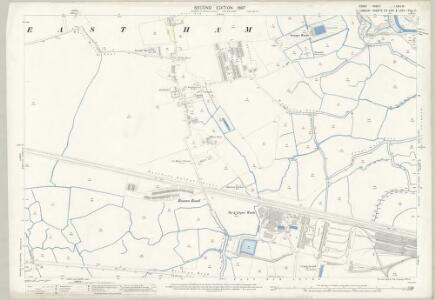 Essex (1st Ed/Rev 1862-96) LXXIII.16 (includes: Barking; East Ham) - 25 Inch Map