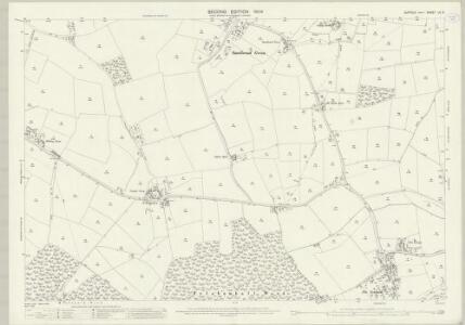 Suffolk LV.6 (includes: Bradfield St Clare; Bradfield St George; Drinkstone; Felsham; Gedding; Hessett) - 25 Inch Map