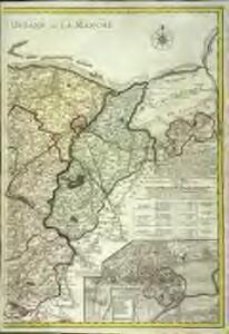 Carte topographique du diocese de Bayeux, 2