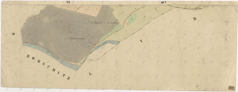 Katastrální mapa obce Kozojedy