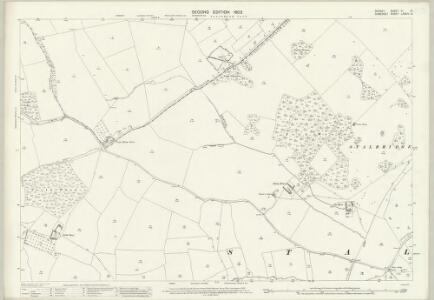 Dorset VI.12 (includes: Henstridge; Purse Caundle; Stalbridge) - 25 Inch Map