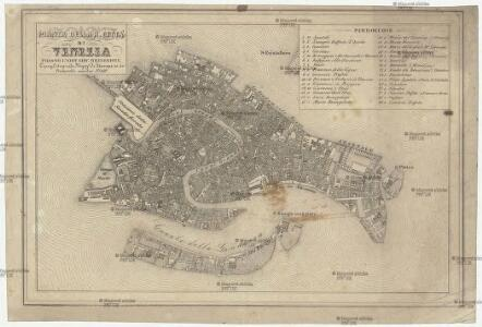 Pianta della r. citta di Venezia