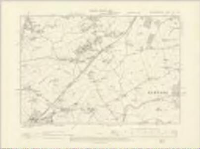 Worcestershire XVI.SW - OS Six-Inch Map