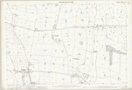 Cheshire LIII.12 (includes: Barton; Crewe; Farndon; Kings Marsh; Stretton) - 25 Inch Map