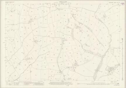 Derbyshire XLVII.12 (includes: Cubley; Doveridge; Marston Montgomery; Somersal Herbert; Sudbury) - 25 Inch Map