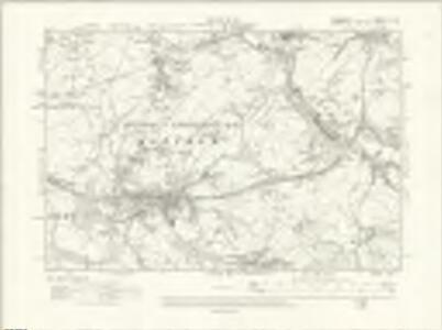 Cheshire XI.NE - OS Six-Inch Map