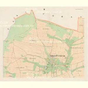 Gross Porzižan - c6027-1-002 - Kaiserpflichtexemplar der Landkarten des stabilen Katasters