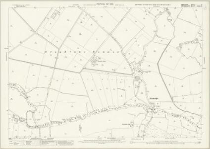 Berkshire V.10 (includes: Draycot Moor; Kingston Bagpuize; Longworth; Northmoor; Standlake) - 25 Inch Map