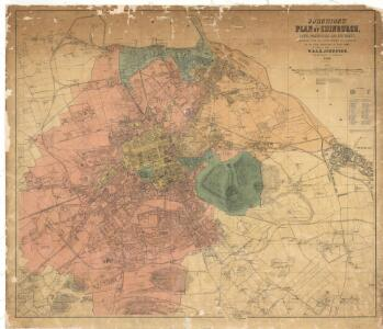 Johnstons' plan of Edinburgh, Leith, Portobello and environs, constructed from the latest surveys with additions by the local surveyors of these towns.