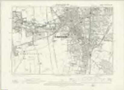 Surrey XIV.SW - OS Six-Inch Map