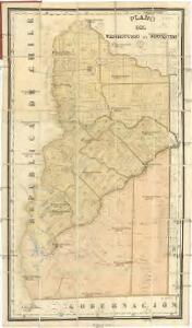 Plano del territorio del Neuquen