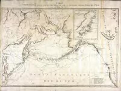 Carte des decouvertes faites par les Russes et par le capitaine anglois Jacques Cook dans la mer du Sud
