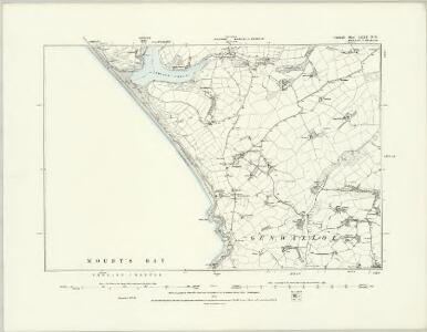 Cornwall LXXX.SE - OS Six-Inch Map