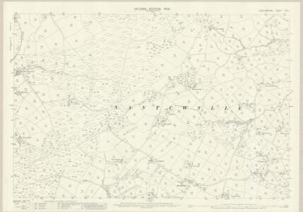 Cardiganshire XXVI.1 (includes: Nancwnlle) - 25 Inch Map