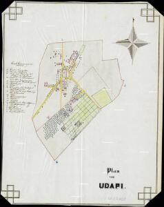 Plan von Udapi