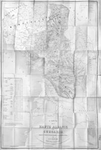 Carte de la Haute Albanie ou Guegaria. Comprenant le Pachalik de Scutari avec une partie de ceux de Monastir et de Prisren