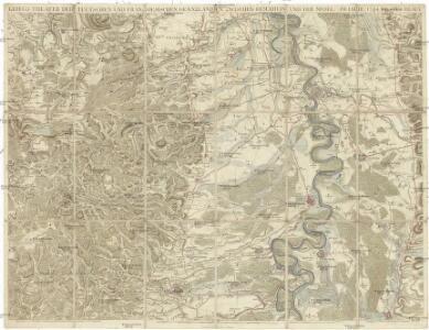 Kriegs Theater der teutschen und franzoesischen Graenzlanden zwischen dem Rhein und der Mosel im Jahr 1794
