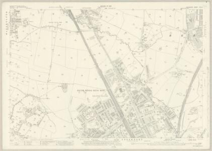 Lancashire CXI.8 (includes: Manchester; Stockport) - 25 Inch Map