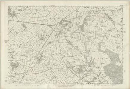 Cheshire XXXI - OS Six-Inch Map