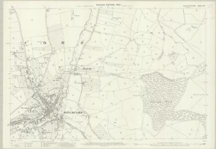 Gloucestershire XX.7 (includes: Stanway; Sudeley; Winchcombe) - 25 Inch Map