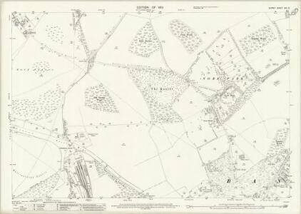 Surrey XIX.10 (includes: Banstead; Epsom) - 25 Inch Map