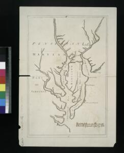Lord Balitmore's own plan : proposed Maryland/Pennsylvania boundary.