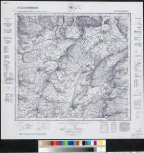 Meßtischblatt 6213 : Kriegsfeld, 1940