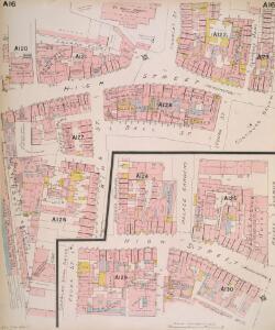 Insurance Plan of London West Vol. A: sheet 16