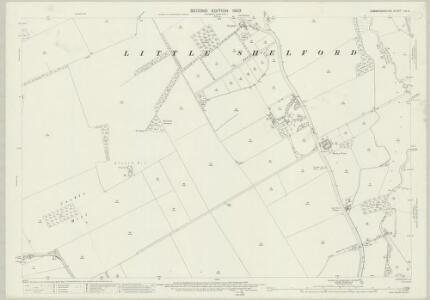 Cambridgeshire LIV.6 (includes: Harston; Little Shelford; Newton; Sawston; Whittlesford) - 25 Inch Map