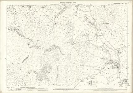 Caernarvonshire XXV.16 (includes: Llanaelhaiarn; Pistyll) - 25 Inch Map