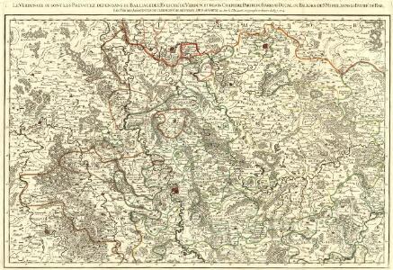 Le Verdunois ou sont les Prevotez dependans du Balliage de l'Evesché de Verdun et de son Chapitre. :