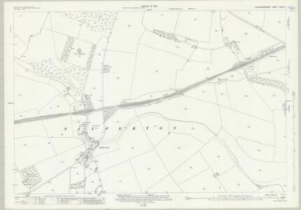 Gloucestershire XXVIII.9 (includes: Haselton; Hawling; Notgrove) - 25 Inch Map