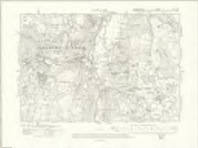 Denbighshire XVI.SW - OS Six-Inch Map