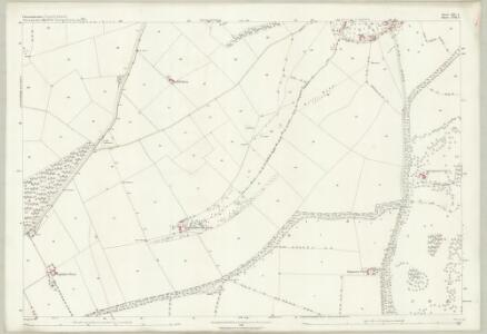 Gloucestershire XIV.4 (includes: Blockley; Chipping Campden) - 25 Inch Map