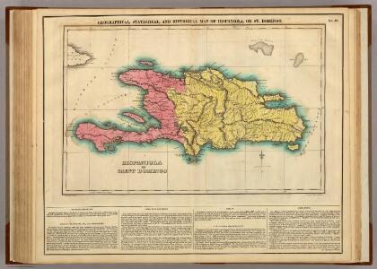 Map Of Hispaniola, Or St Domingo.