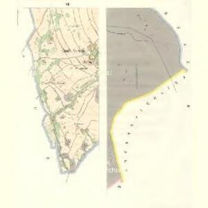 Gross Aurzim (Welky Auřim) - c8466-1-002 - Kaiserpflichtexemplar der Landkarten des stabilen Katasters