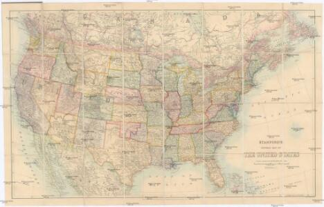 Stanford's General Map of the United States