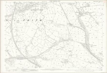Derbyshire IX.13 (includes: Chapel en le Frith) - 25 Inch Map