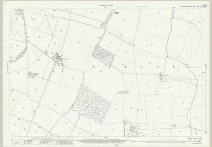 Huntingdonshire XXI.14 (includes: Diddington; Great Staughton; Southoe and Midloe) - 25 Inch Map