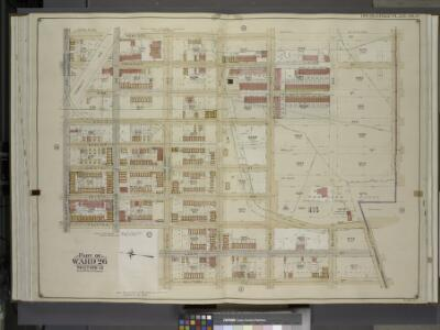 Brooklyn, Vol. 4, Double Page Plate No. 17; Part of   Ward 26; Sections 13; [Map bounded by Hemlock St., Dumont Ave., New Lots Ave.;   Including Milford St., Pitkin Ave., Fountain Ave., Liberty Ave.]